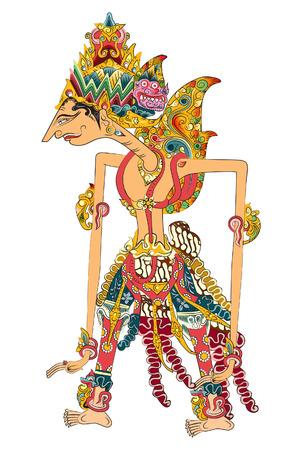"""나이트는 또한 왕이다. 그는 """"완벽한 인간""""으로 간주됩니다. 힌두교 서사시 """"라마야나 (Ramayana)""""에 실렸다. 일러스트"""