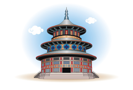 Pagoda is a kind of temple that has a roof pile-pile, Meru-style. A pagoda is mainly found in countries with many Buddhists.