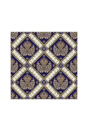 Batik Ceplok Jogjakarta