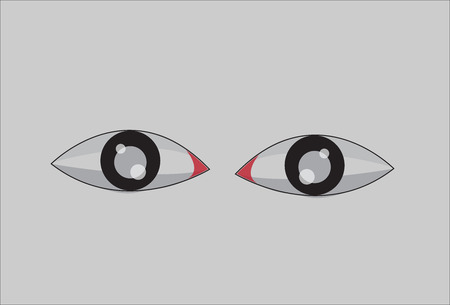 eyelids: pair of eyes