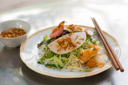 Vietnamese rice noodle roll, Banh Cuon
