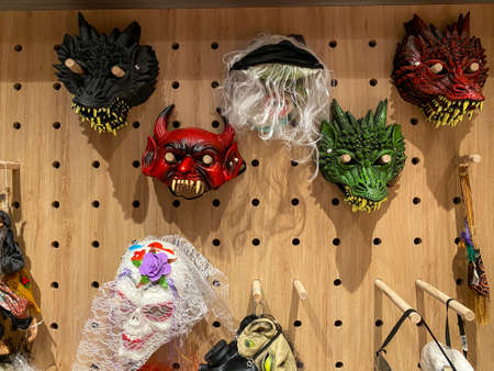 Monster cosplay mask for Halloween cosplay holiday