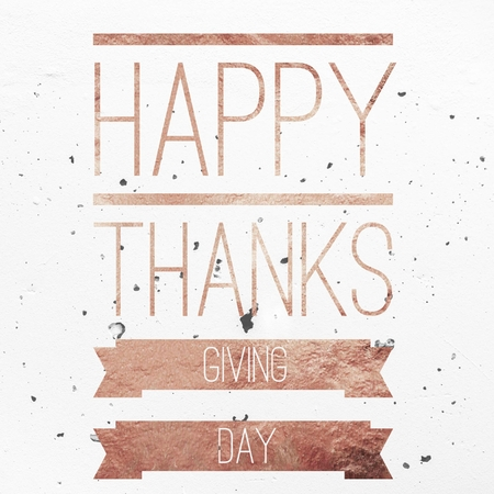 happy thanksgiving day Inspirational hand lettering greeting  illustration motivational typography for t shirt, invitation, greeting card, social media post, printing and embroidery.