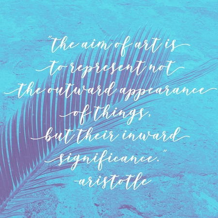 Best inspirational quote text on blurred vintage background with overlay and transparency filter and effects.