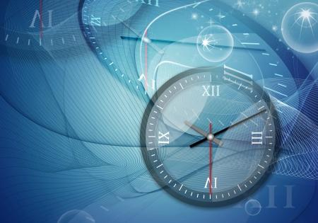 時計 - デジタル グラフィック コンパイル コンピューター図面要素の時間します。