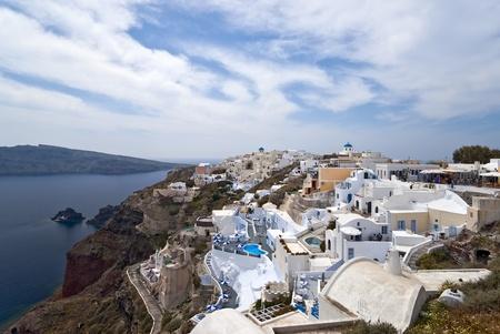 Ia village panorama photo