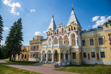 Manor estate of Baron von Derviz in Kiritzi. Ryazan region