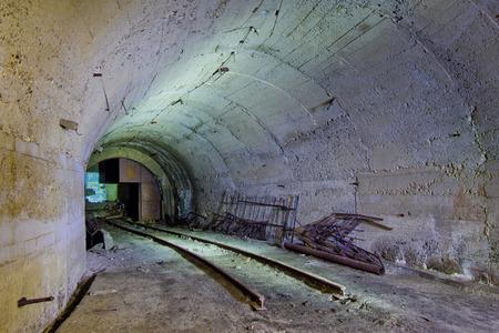 abkhazia: Abandoned coal mine in Tkvarcheli, Abkhazia, Georgia