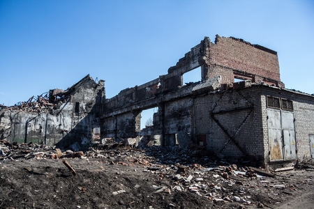 stalker: Ruins of Agricultural machinery plant named after Stalin in Voronezh