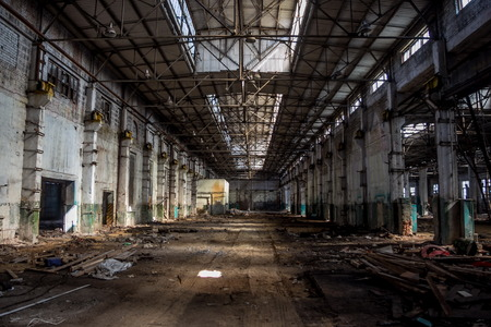 stalker: Abandoned factory corps of Agricultural machinery plant named after Stalin in Voronezh