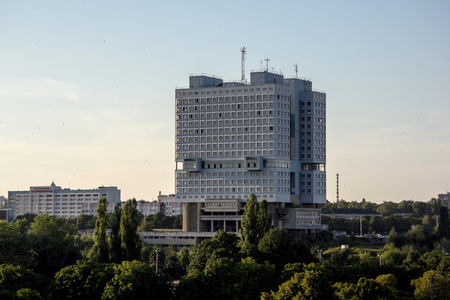 councils: Abandoned building House of Councils (House of Soviets) in Kaliningrad