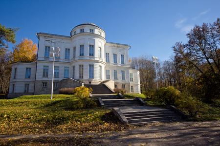Autumn at Bogoroditsky Palace, manor estate of earl Bobrinsky, Tula region, Russua
