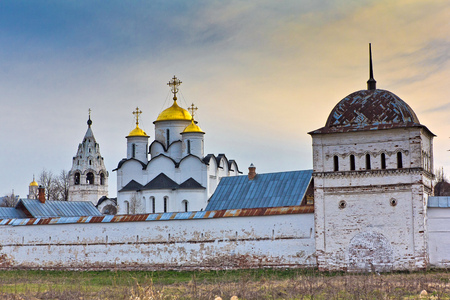 The Protection of the Virgin (Pokrovsky) womens monastery in Suzdal Stock Photo