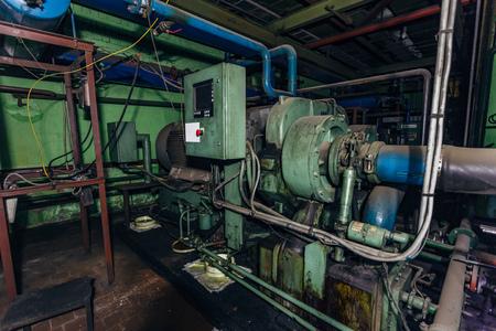 Industrial centrifugal compressor. Reklamní fotografie