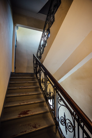 Staircase in old villa