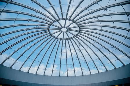 Glass transparent dome