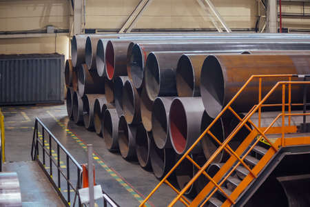 Pipe factory production line
