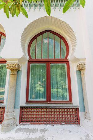 Beautiful window in oriental style. Stock Photo - 130126852