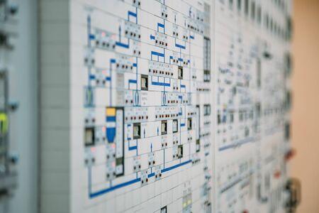 Control panel dashboard, selective focus Stock fotó