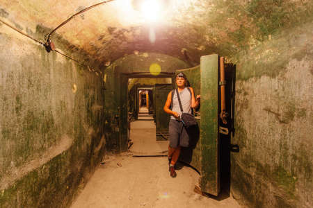 Urban explorer infiltrates into old soviet bunker.