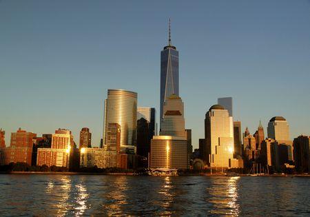 Amazing view on Manhattan New York