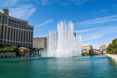 Gorgeous Bellagio Fountains Las Vegas Strip - Las Vegas Strip Hotel. 09.17.2012. USA. Las Vegas.