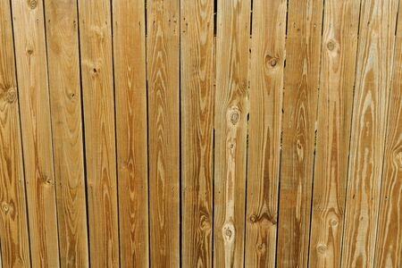 Close up view of texture background in form of brown wooden planks.