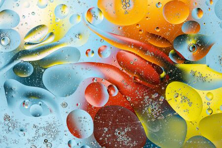 Close up view of colorful abstract design, texture. Beautiful abstract backgrounds.
