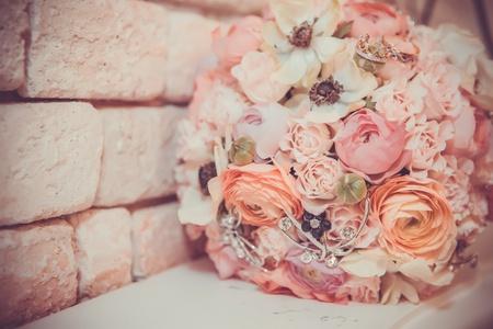 bouqet: Bridal Bouqet Stock Photo