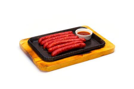 italian sausage: Italian Sausage Stock Photo