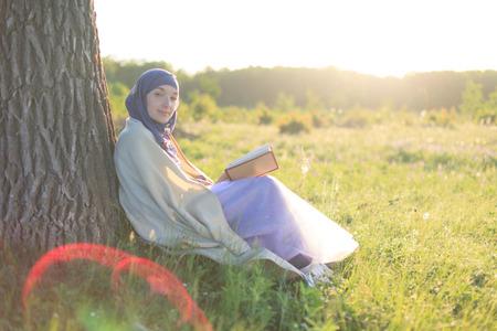 preadolescent: Reading Outside