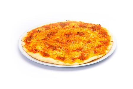 Pizza on White photo
