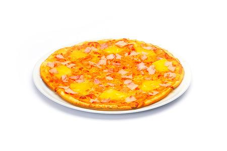 binge: Pizza on White