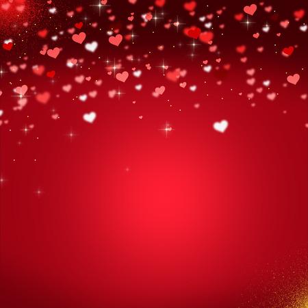 saint valentin coeur: milieux d'amour Banque d'images