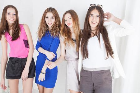 Young beautiful women photo