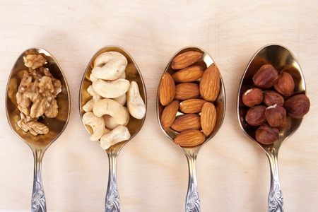 food table: mixed nuts