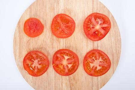 portion: Tomato portion Stock Photo