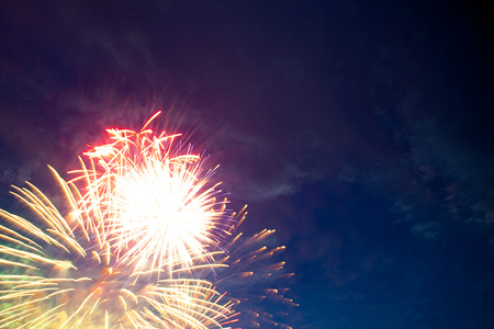 conquering adversity: Fireworks