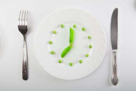 green pea: Fresh green pea
