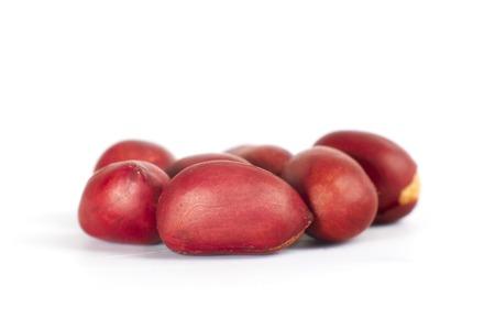 goober peas: roasted peanuts isolated