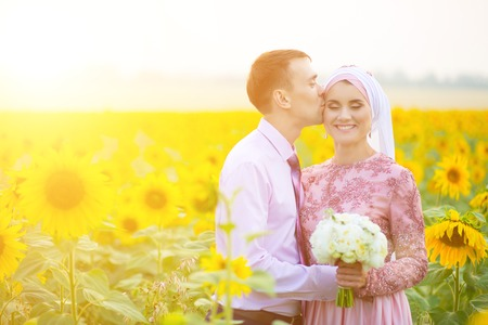 Bride and groom at a islamic wedding ceremony muslim marriage bride and groom at a islamic wedding ceremony muslim marriage stock photo 74316344 junglespirit Gallery