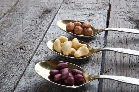 Mixed nuts Фото со стока