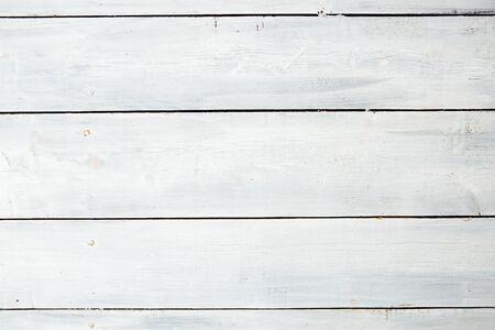 White old wooden wall texture background. White plank. Reklamní fotografie