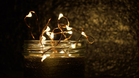 Lamps in the glass