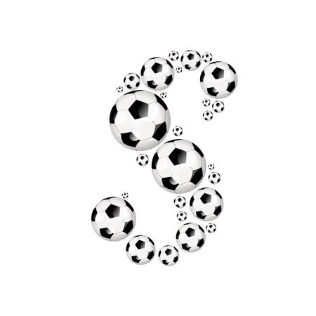 Football, Soccer alphabet, letter S