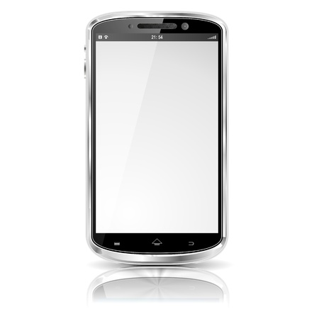 new large smartphone white screen