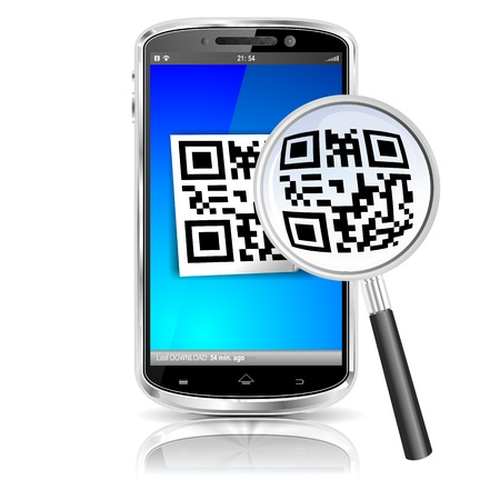 smartphone code search illustration illustration