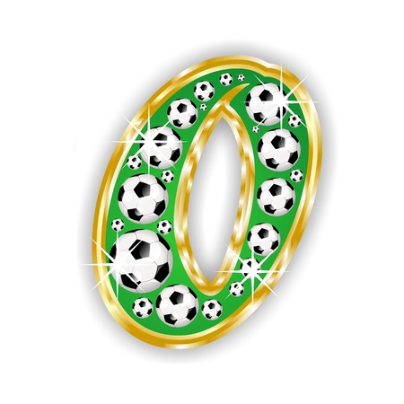 soccer number 2 on field with golden frame