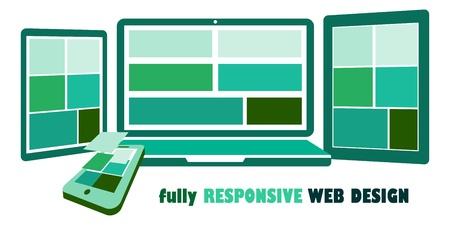 fully responsive web design photo