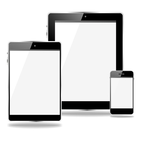 mobile devices illustration
